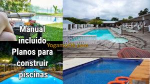 Descargar Manual incluido Planos para construir piscinas.