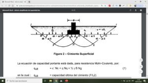 ¿Como realizar el calculo de la capacidad portante del suelo?